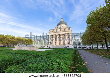Bavarian state building,Munich,Germany