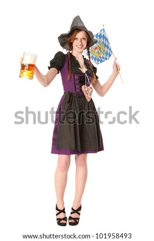 bavarian woman