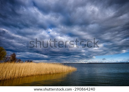 Bay on the Baltic Sea