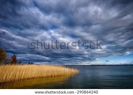 Bay on the Baltic Sea - stock photo