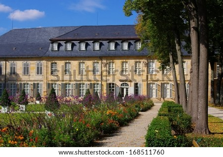 Bayreuth New Palace  - stock photo