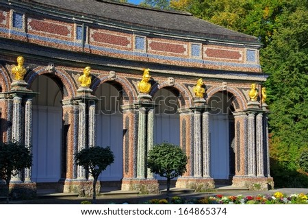 Bayreuth Orangery  - stock photo