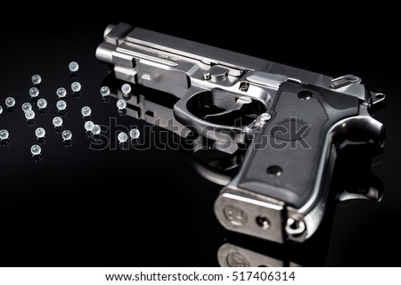Bb Gun Gas Airsoft Pistol Bb Stock Photo 517406332 - Shutterstock