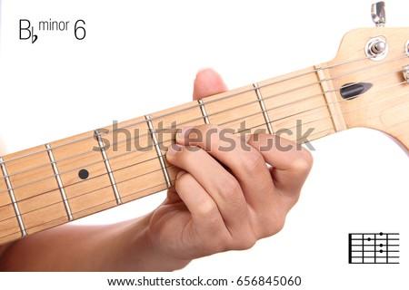 Bbm 6 Advanced Guitar Keys Series Closeup Stock Photo (Royalty Free ...