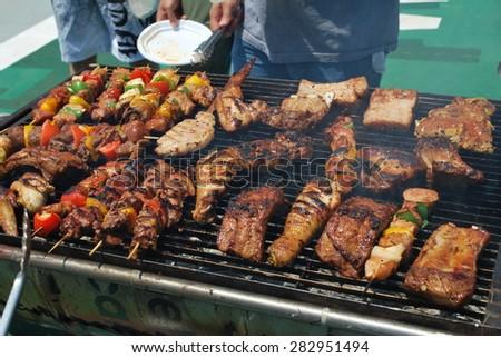 BBQ - stock photo