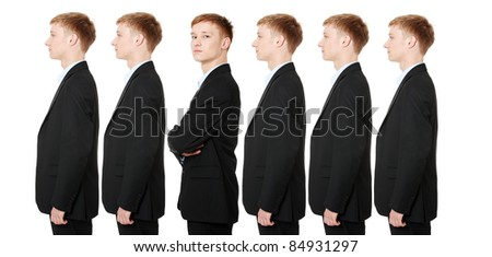 Be different concept - stock photo