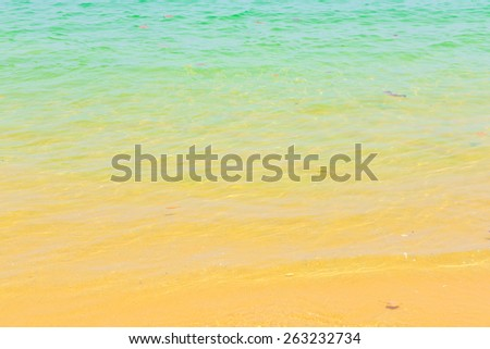 beach and sea background. - stock photo