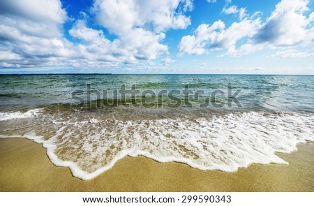 beach and sea - Rujana, Germany
