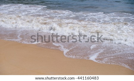 beach and tropical sea in phuket