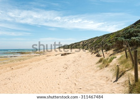 Beach at Point Lonsdale, Victoria, Australia
