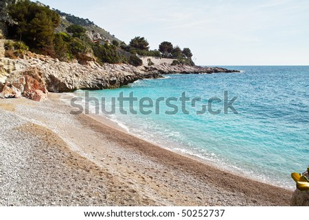 beach at the sea