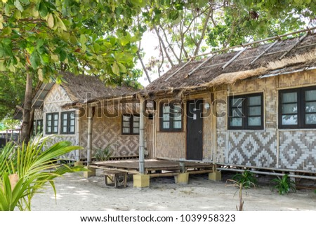 Beach bungalows on Phi Phi Islands, Andaman Sea, Thailand, Asia