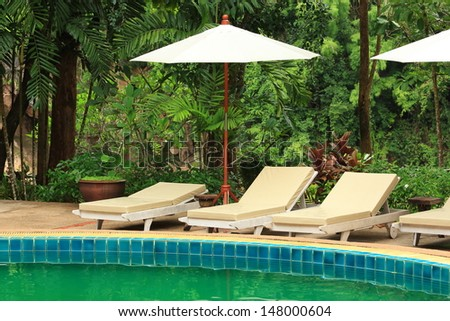 Pool Furniture Stock Images Royalty Free Images Vectors Shutterstock