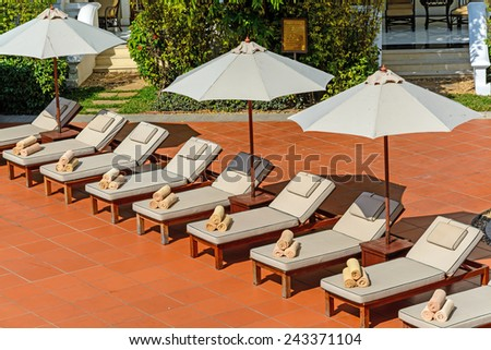 Pool Chair Stock Photos Images Pictures Shutterstock