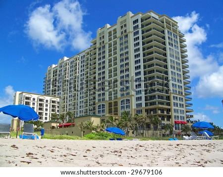Beach Condo - stock photo