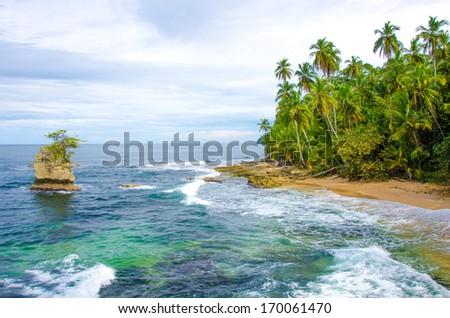 Beach Costa Rica - stock photo