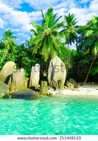 Beach Getaway Paradise  - stock photo