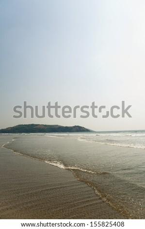 Beach, Goa, India - stock photo