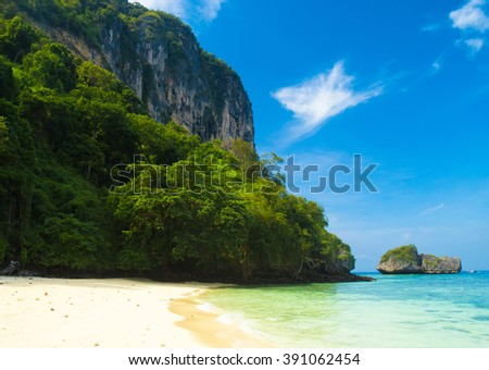 Beach Holiday Paradise Wallpaper