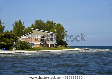 Beach House on the Florida Gulf Coast