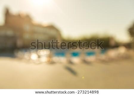 Beach House, Villa, House. - stock photo