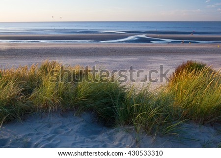 Beach in Belgium