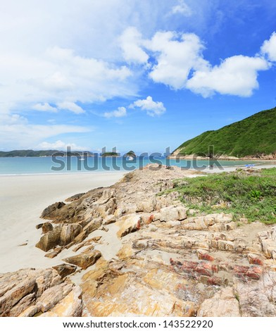 Beach in Hong Kong