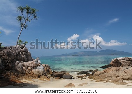 beach in Koh Lipe, Thailand