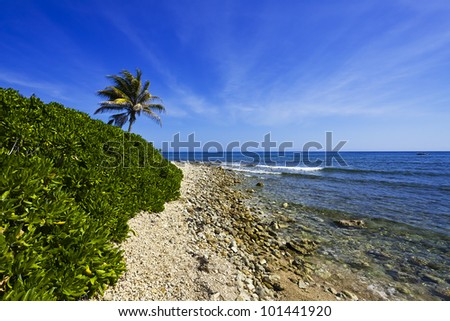 Beach in Montego Bay, Jamaica