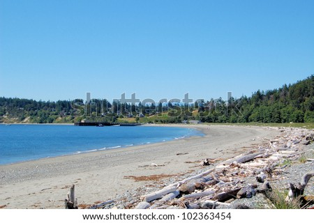 Beach in Port Townsend, Washington