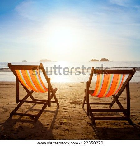 beach in Thailand - stock photo