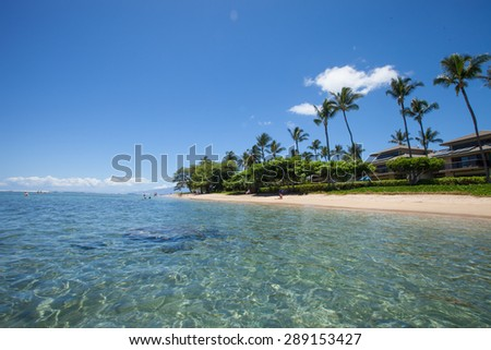 Beach, Maui Hawaii