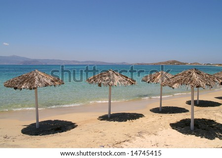 Beach, Naxos, Greece