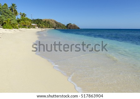 Beach on Mamanuca Islands, Fiji