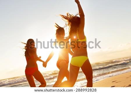 Beach, Party, Summer. - stock photo