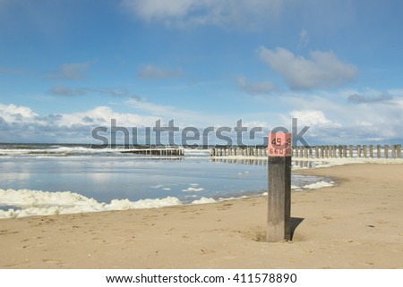 Beach pole - Strandpaal