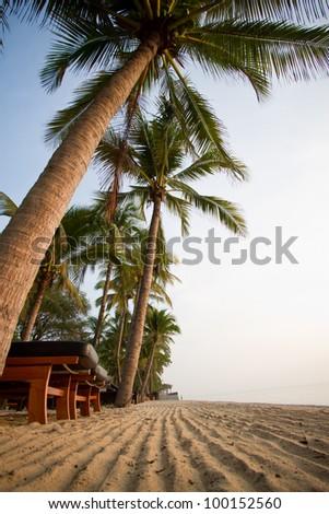 Beach Resort. - stock photo