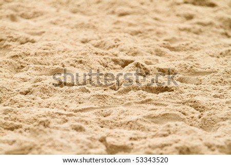 beach sand - stock photo