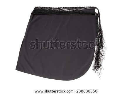 beach skirt, pareo - stock photo