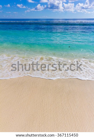 Beach Surf Storm  - stock photo