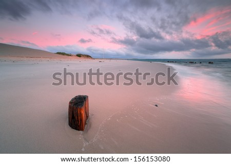 beach sylt - stock photo