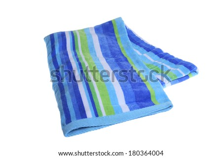 Beach Towel - stock photo