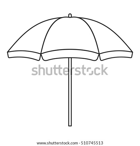 Umbrella Outline Stock Images, Royalty-Free Images & Vectors