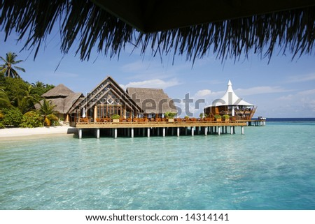 Beach Villa On A Platform