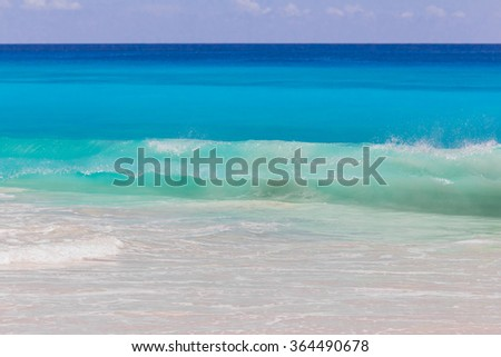 Beach Waters Surf  - stock photo