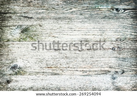 Beach wood textured background panel horizontal neat and light color bleached white - stock photo