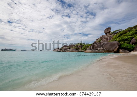 beaches of the Andaman Sea