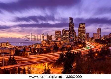 Beacon Hill Seattle. - stock photo