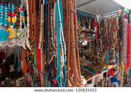 Bead necklaces and bracelets
