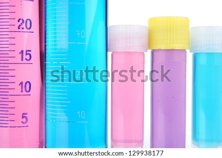 Beakers, test-tubes and laboratory glassware